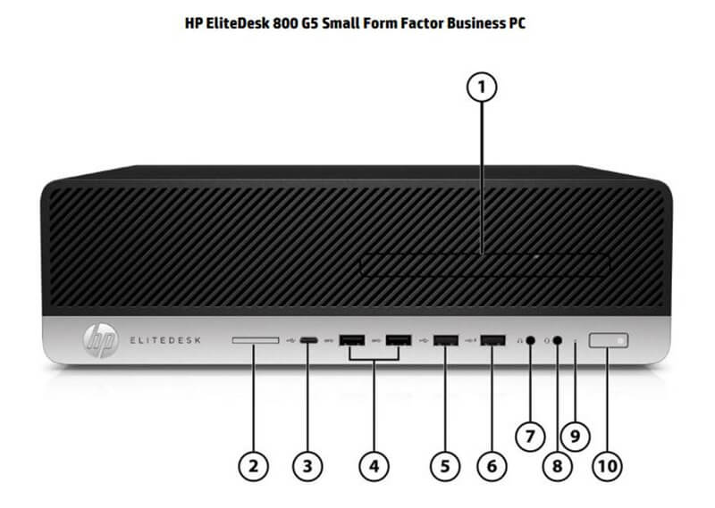 Hp Elitedesk 800 G5 Small Form Factor 04