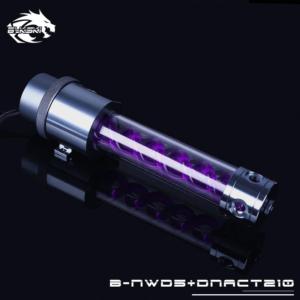 Bykski B-NWD5+DNACT210 Chrome/ Purple - Water Pumb