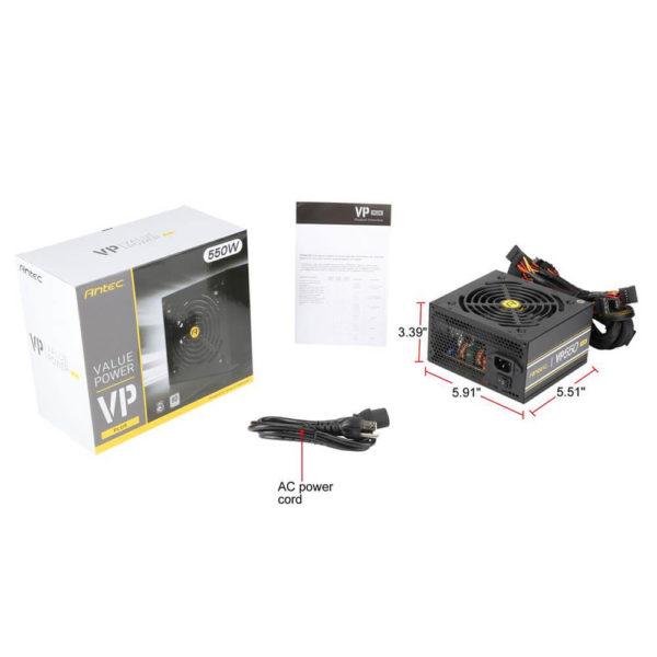 Antec Vp550plus 550w 80plus 08