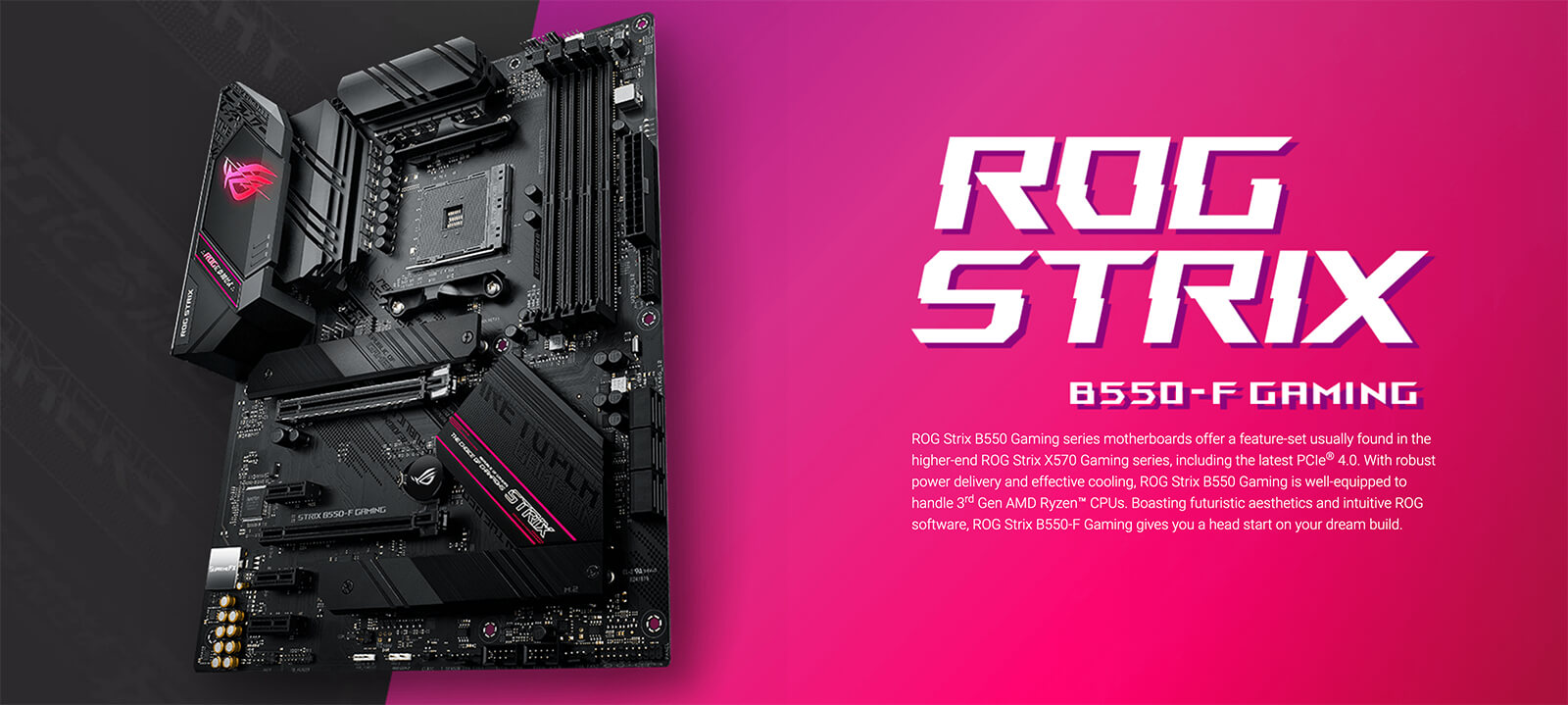 Asus Rog Strix B550 F Gaming