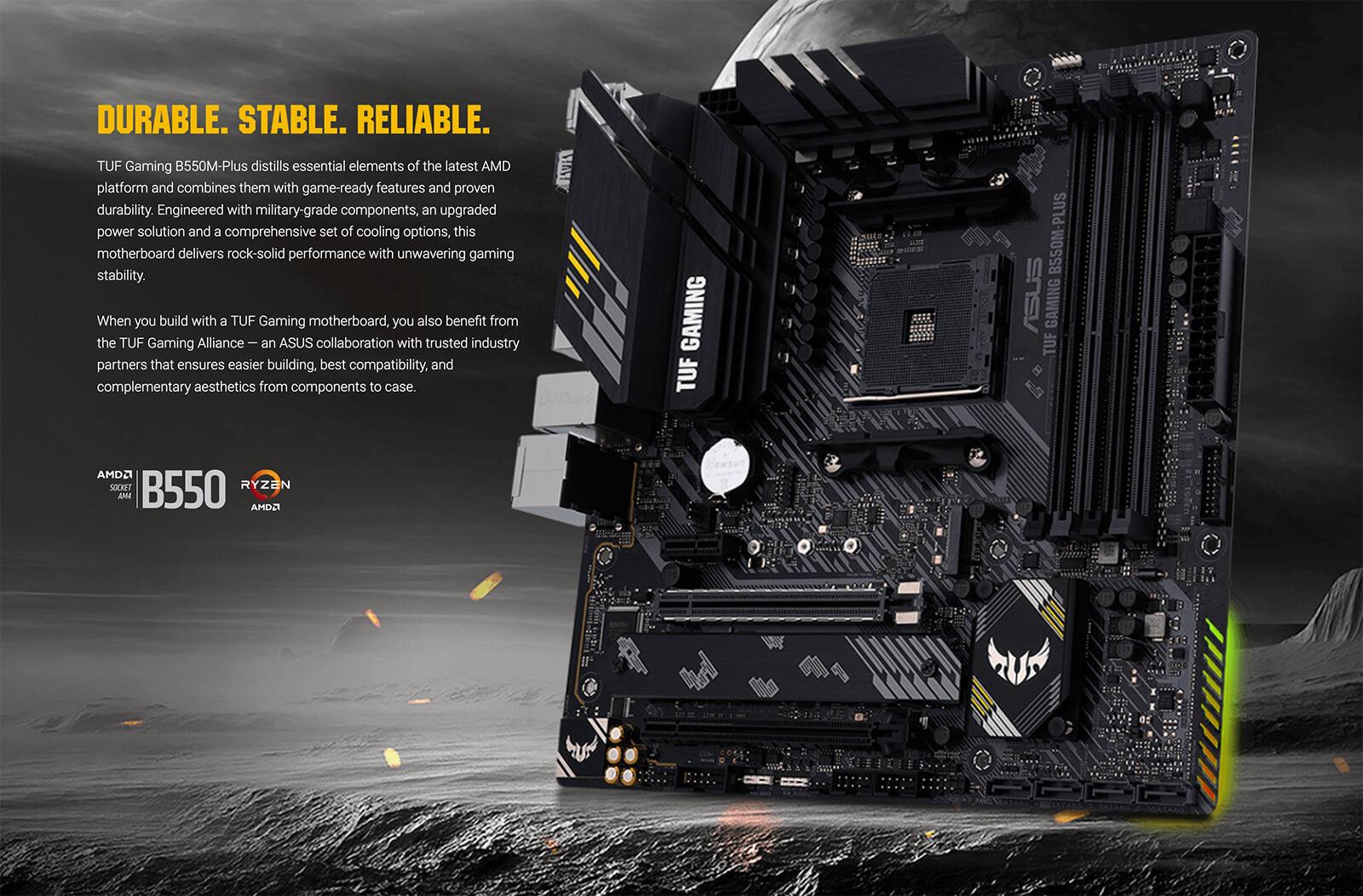 Asus Tuf Gaming B550m Plus Socket Am4