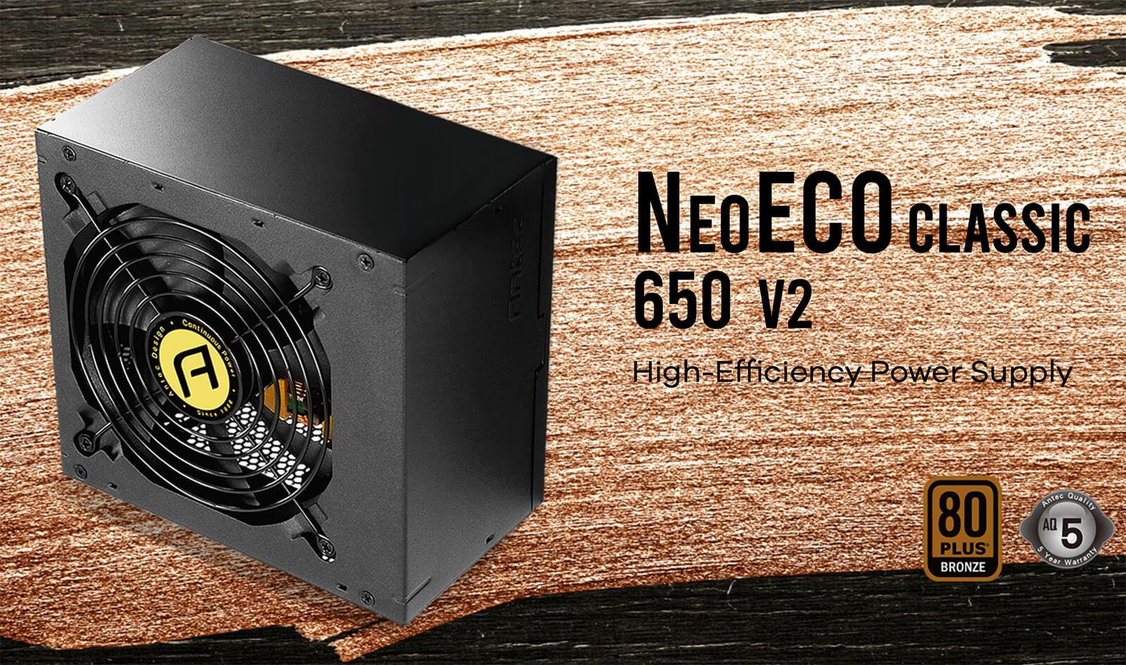 Antec Neo Eco Classic 650 V2