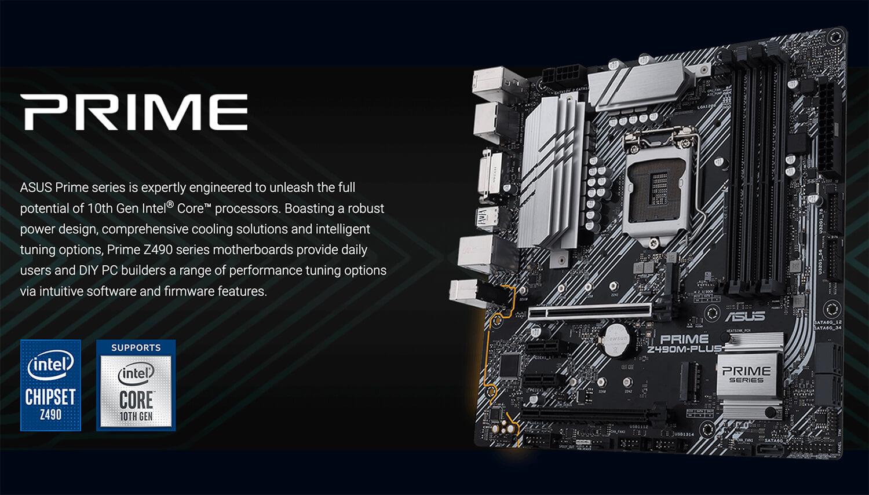 Asus Prime Z490m Plus Socket 1200