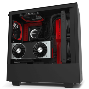 Nzxt H510i – Black Red 00