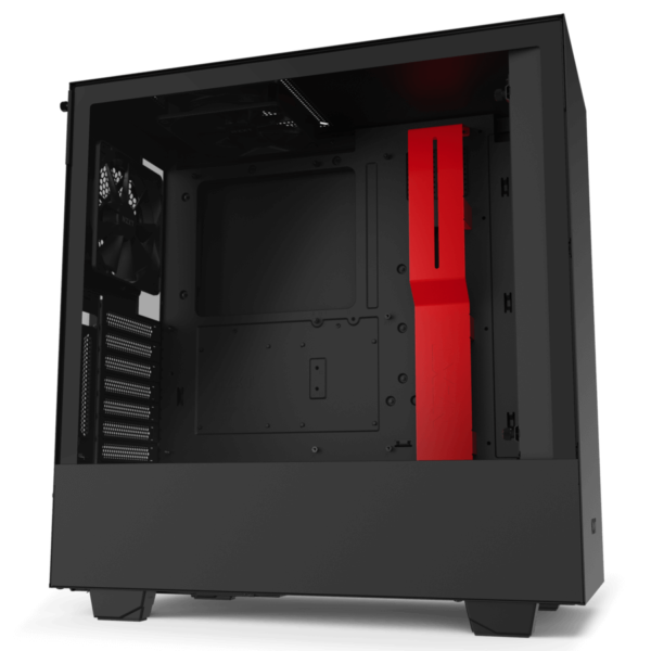 Nzxt H510i – Black Red 01
