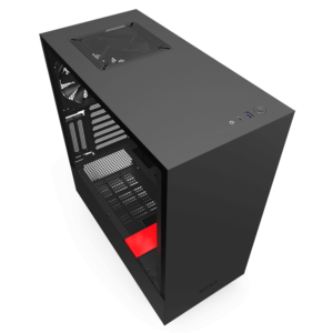 Nzxt H510i – Black Red 03