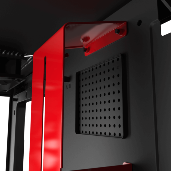 Nzxt H510i – Black Red 05