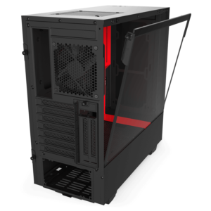 Nzxt H510i – Black Red 06