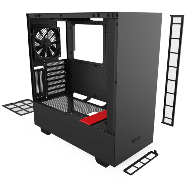 Nzxt H510i – Black Red 07
