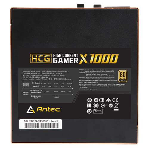Antec Hcg 1000 Extreme 1000w – 80 Plus Gold 08