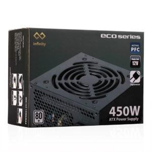 Infinity Eco 450w 80plus Single Rail – True Power 02
