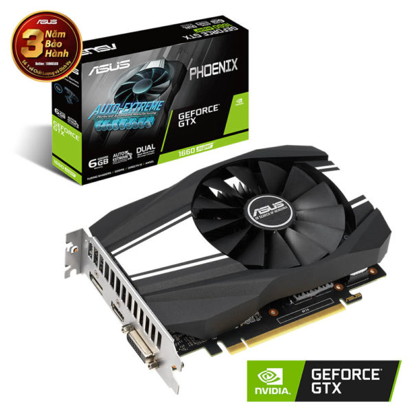 Asus Phoenix Geforce® Gtx 1660 Super™ 6gb Gddr6 01