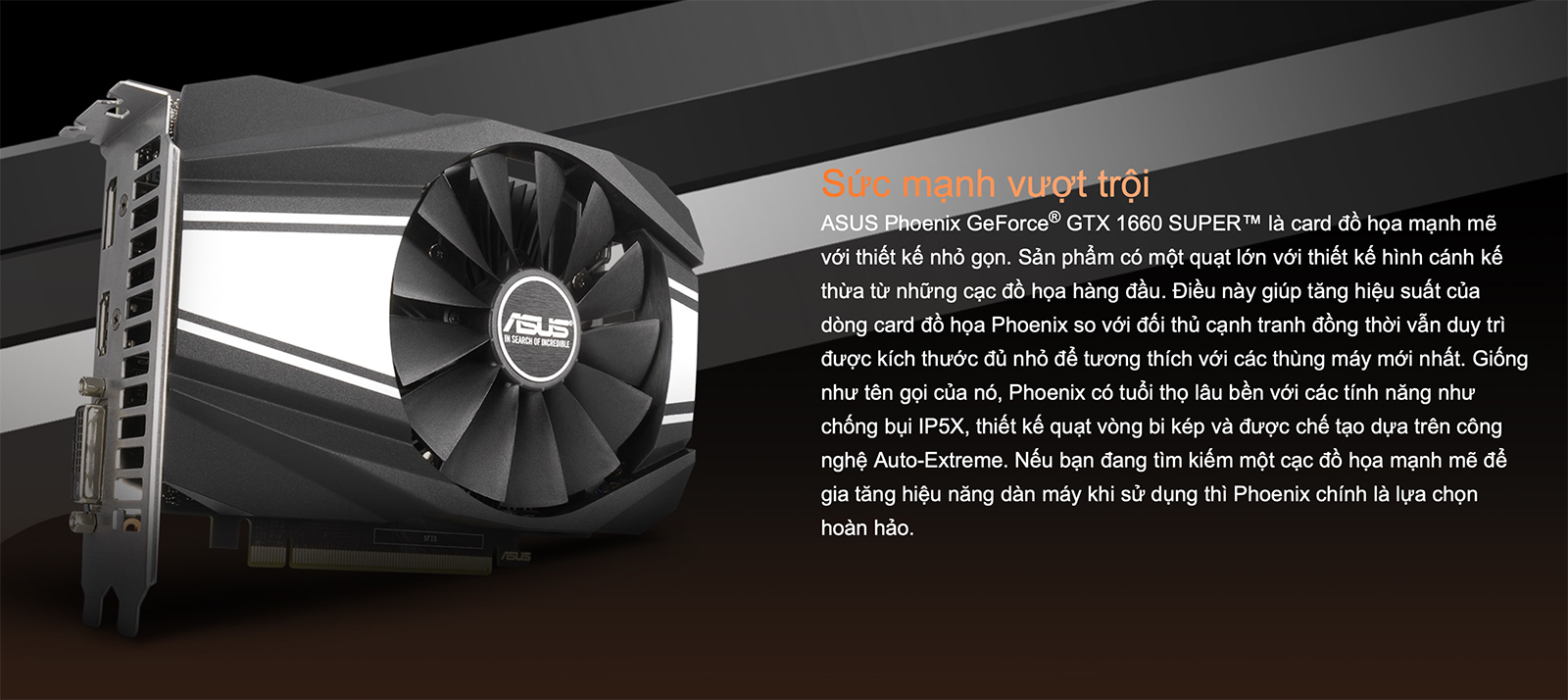 Asus Phoenix Geforce® Gtx 1660 Super™ 6gb Gddr6 Post 01