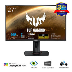 Asus Tuf Gaming Vg27wq Curved Monitor 01