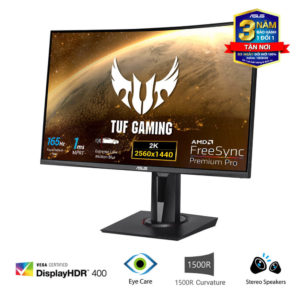 Asus Tuf Gaming Vg27wq Curved Monitor 02
