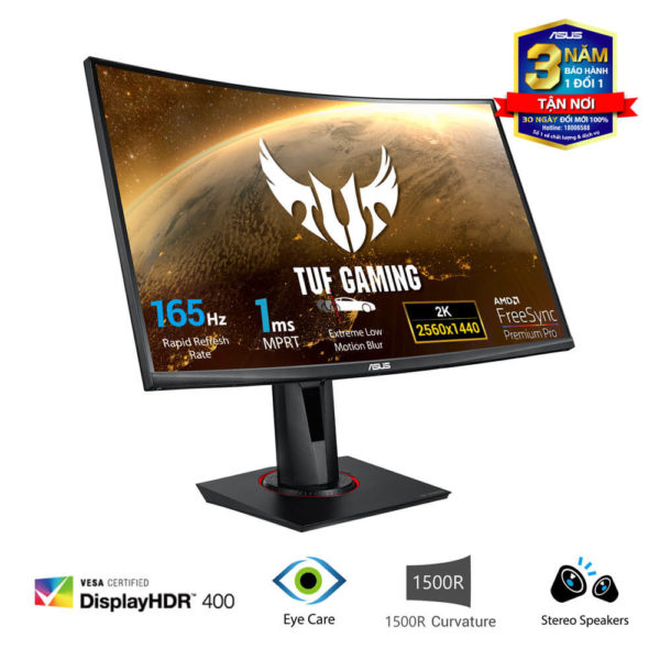 Asus Tuf Gaming Vg27wq Curved Monitor 03