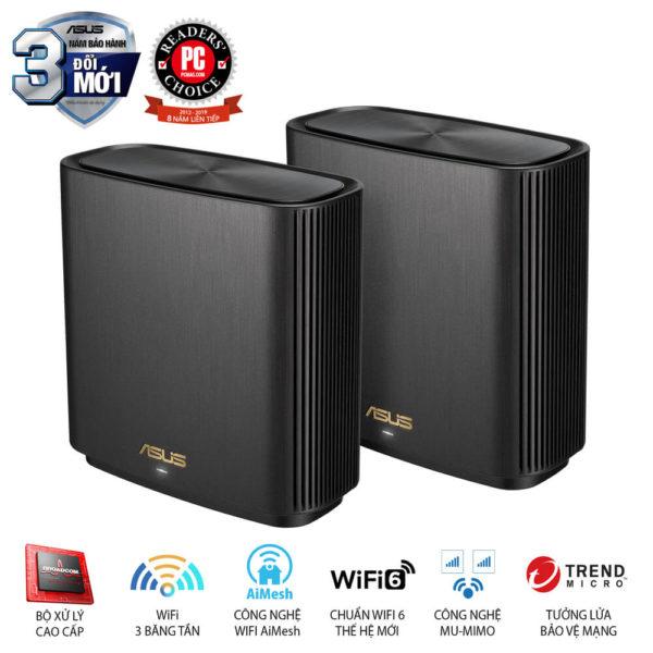 Asus Zenwifi Xt8 (2pk) Chuẩn Ax6600 Wifi 6 2 Băng Tần 02