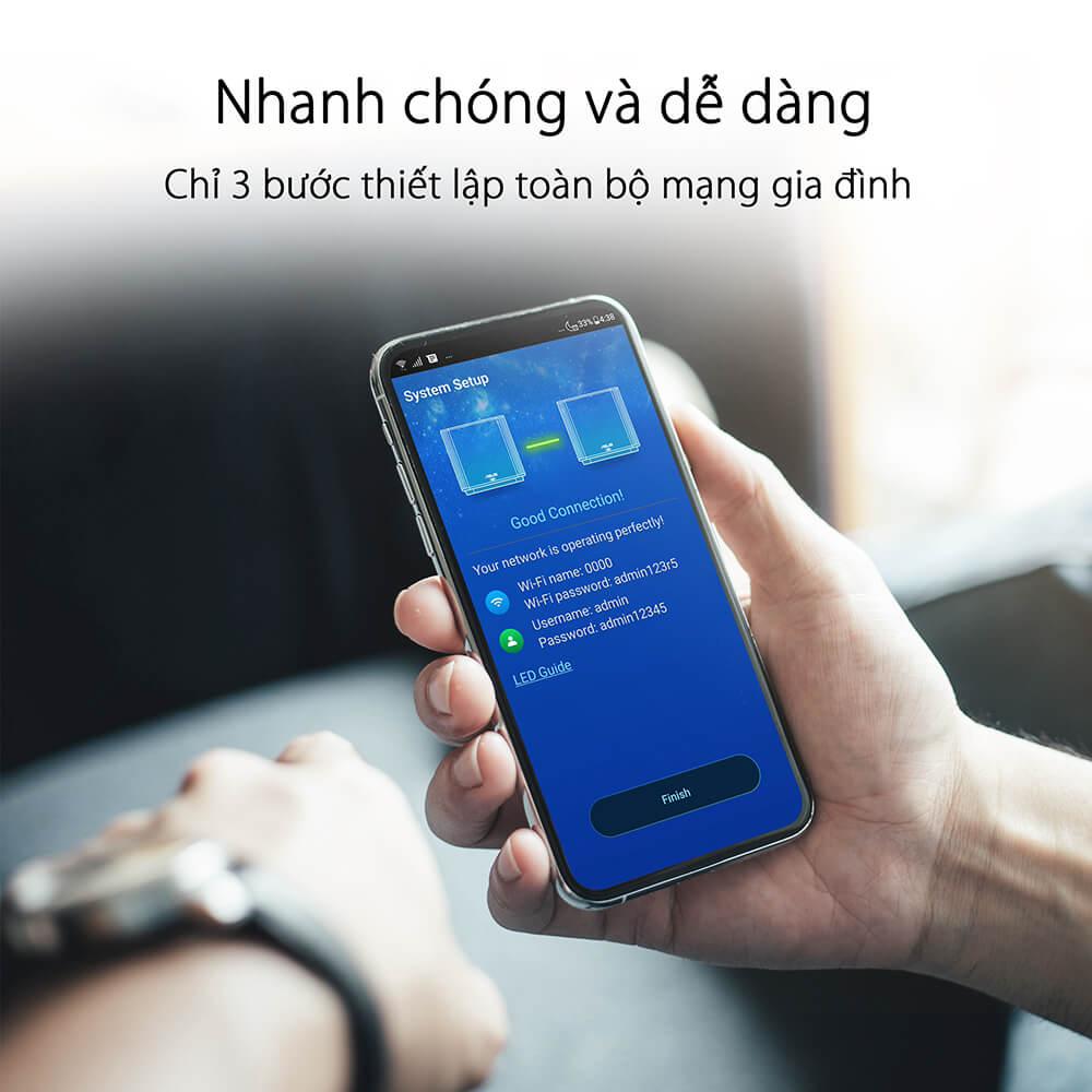 Asus Zenwifi Xt8 (2pk) Chuẩn Ax6600 Wifi 6 2 Băng Tần 08