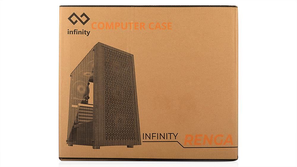 Infinity Renga -Tempered Glass Gaming Case