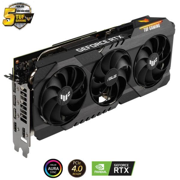Asus Tuf Gaming Geforce Rtx 3080 10gb Gddr6x 05
