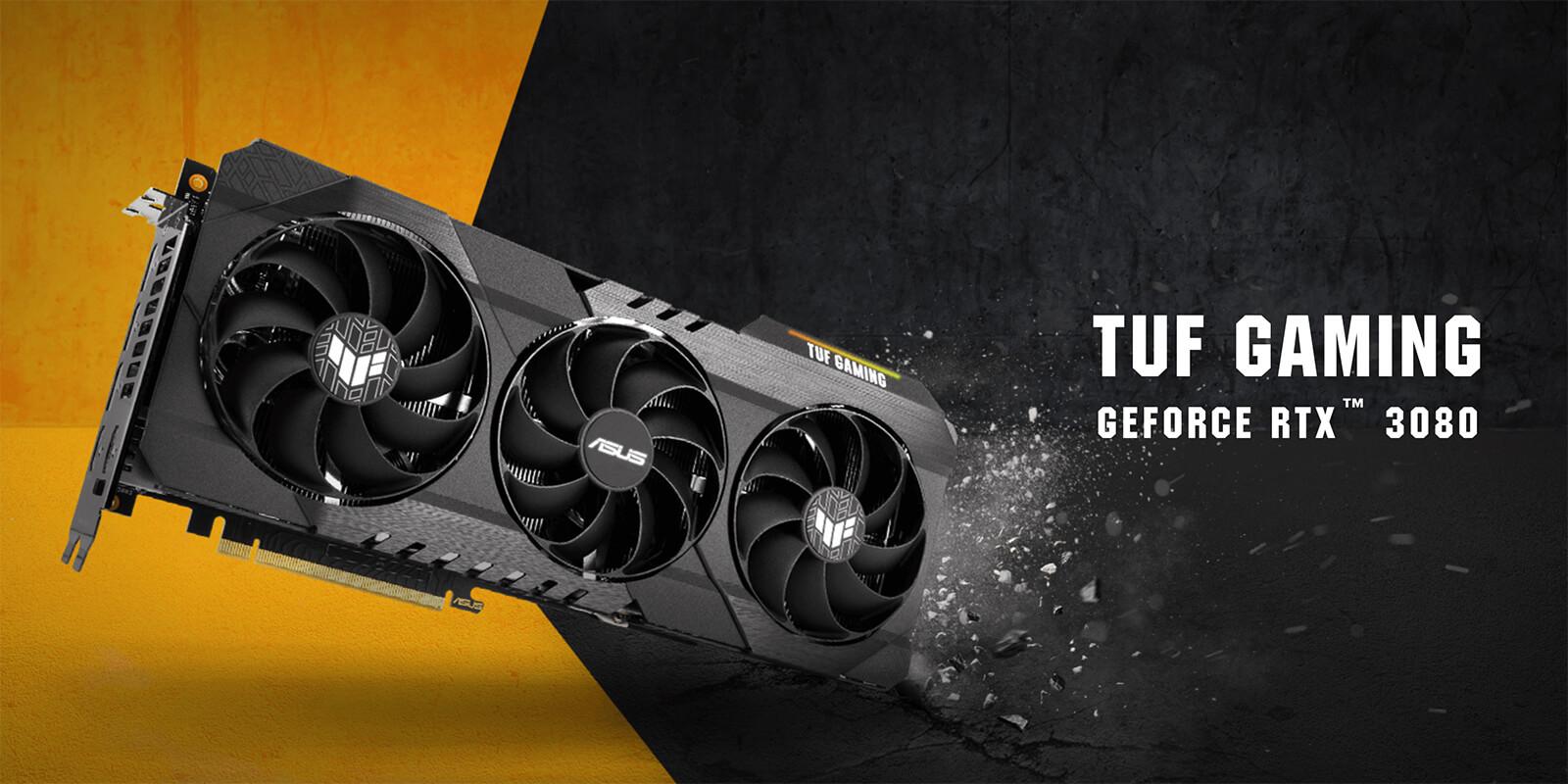 Asus Tuf Gaming Geforce Rtx 3080 10gb Gddr6x Featured