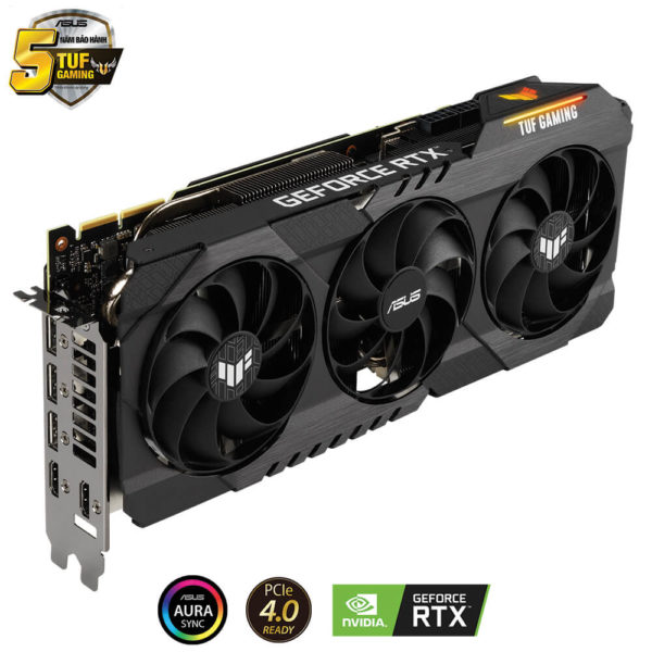 Asus Tuf Gaming Geforce Rtx 3090 Oc 10gb Gddr6x 06