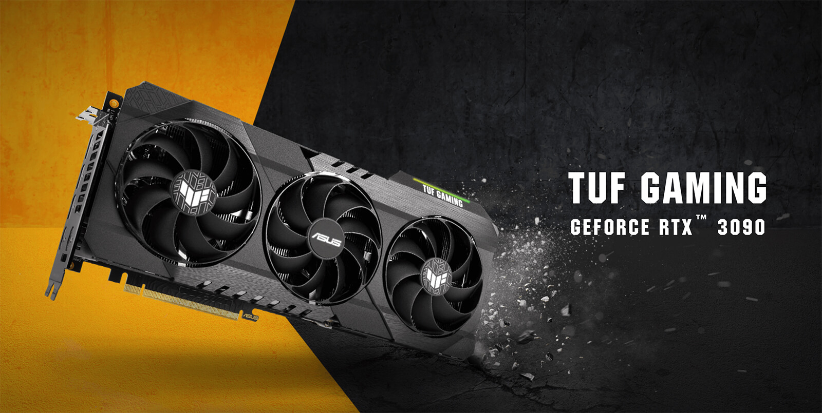 Asus Tuf Gaming Geforce Rtx 3090 Oc 10gb Gddr6x Featured