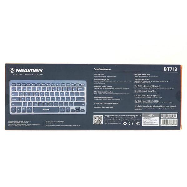 Bàn Phím Không Dây Newmen Bt713 (2.4g+ Bluetooth) 08