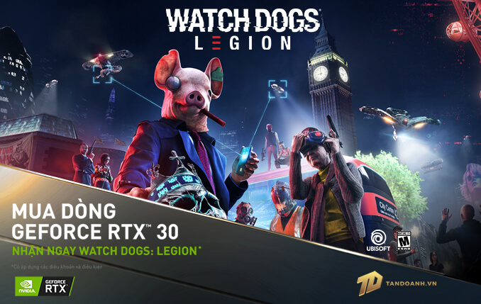 Banner Homepage Watch Dogs Nvidia