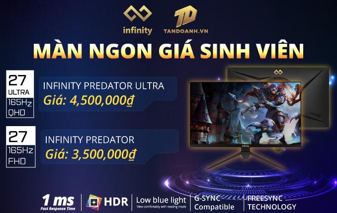 Banner Predator Màn Ngon Giá Sinh Viên