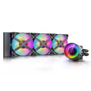 Deepcool Castle 360ex Addressable Rgb Aio Liquid Cpu Cooler 01