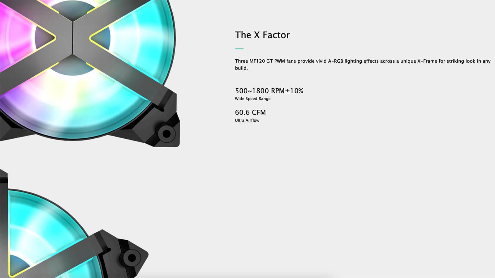 Deepcool Castle 360ex Addressable Rgb Aio Liquid Cpu Cooler Feature02
