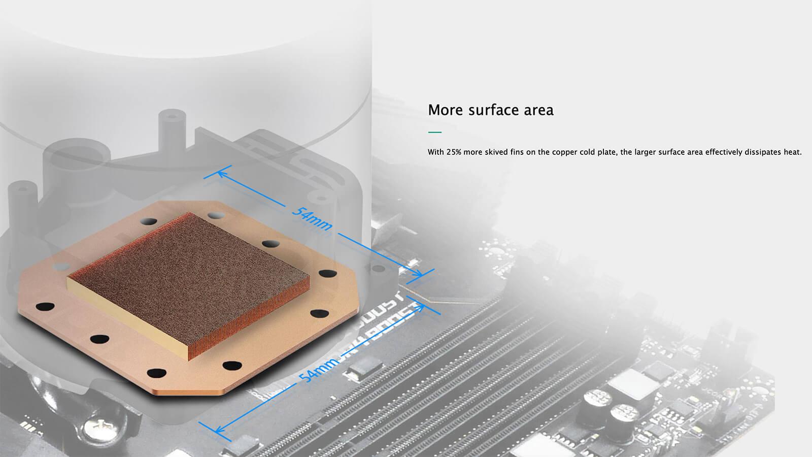 Deepcool Castle 360ex Addressable Rgb Aio Liquid Cpu Cooler Feature05