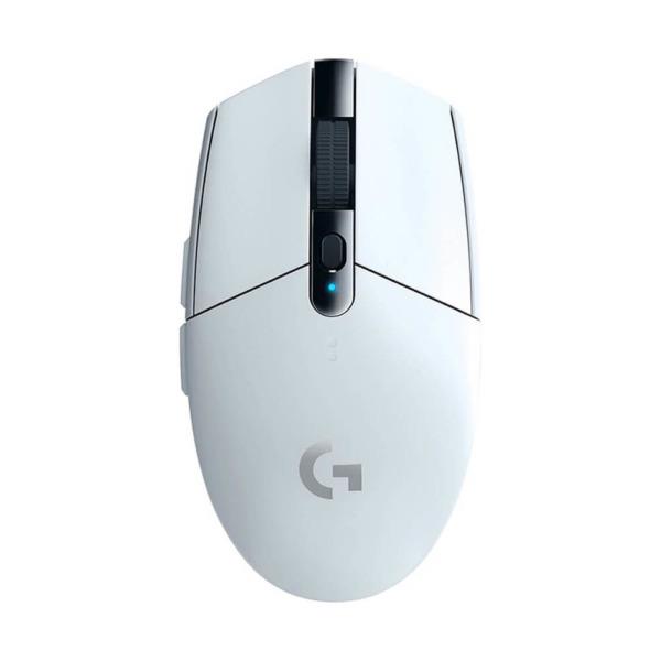 Logitech G304 Lightspeed Wireless Gaming Mouse – White H1