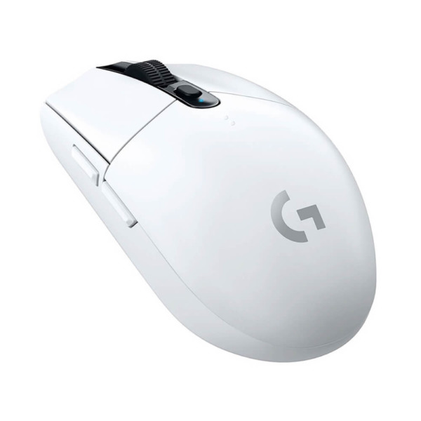 Logitech G304 Lightspeed Wireless Gaming Mouse – White H2