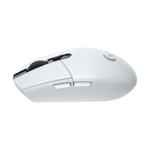 Logitech G304 Lightspeed Wireless Gaming Mouse – White H4
