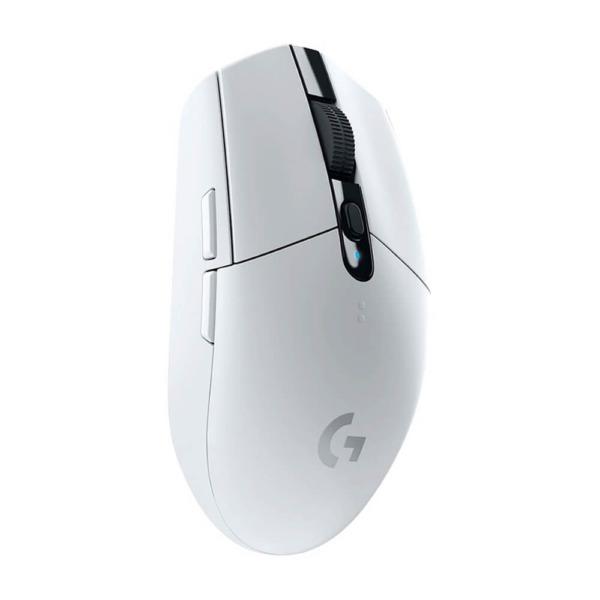 Logitech G304 Lightspeed Wireless Gaming Mouse – White H5