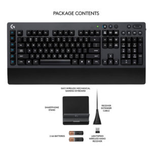 Logitech G613 Wireless Keyboard 04