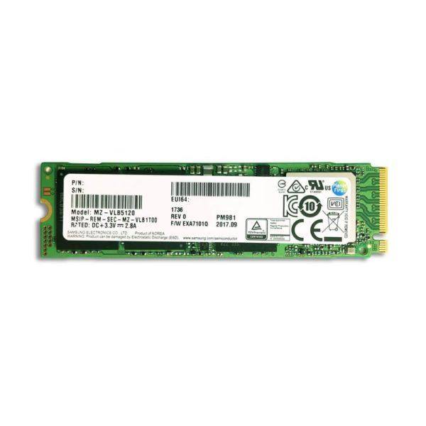 Samsung Pm981a M2 2280 Pcie Nvme Ssd ( No Box)