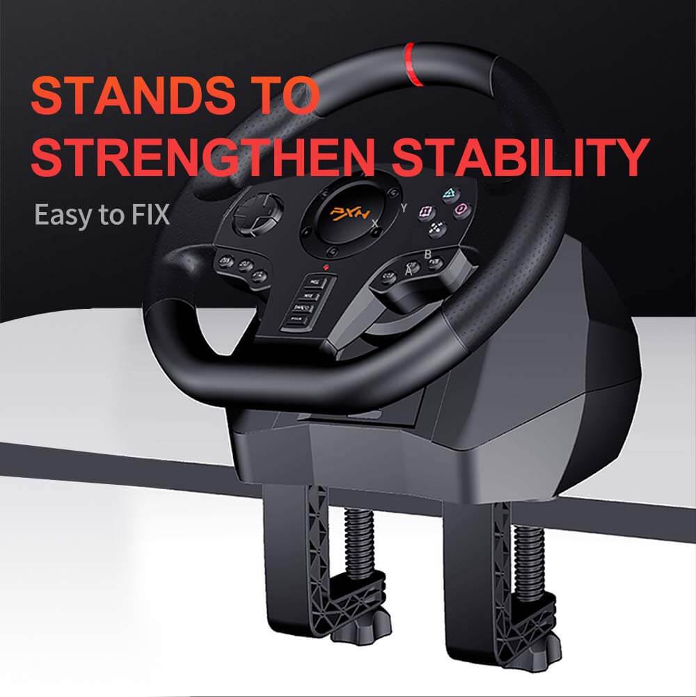 Vô Lăng Chơi Game Pxn V900 Gaming Racing Wheel Post4