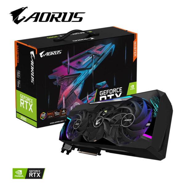 Aorus Geforce® Rtx 3080 Master 10g 01