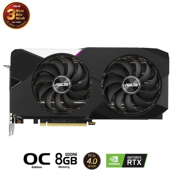 Asus Geforce Dual Rtx 3070 Oc Edition 8gb Gddr6 02