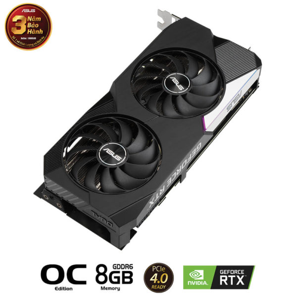 Asus Geforce Dual Rtx 3070 Oc Edition 8gb Gddr6 03