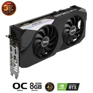 Asus Geforce Dual Rtx 3070 Oc Edition 8gb Gddr6 06