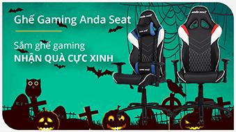 Banner Ghế Gaming Halloween