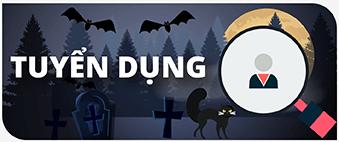 Banner TuyỂn DỤng Halloween