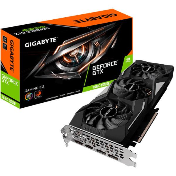 Gigabyte Geforce® Gtx 1660 Super™ Gaming 6g 01