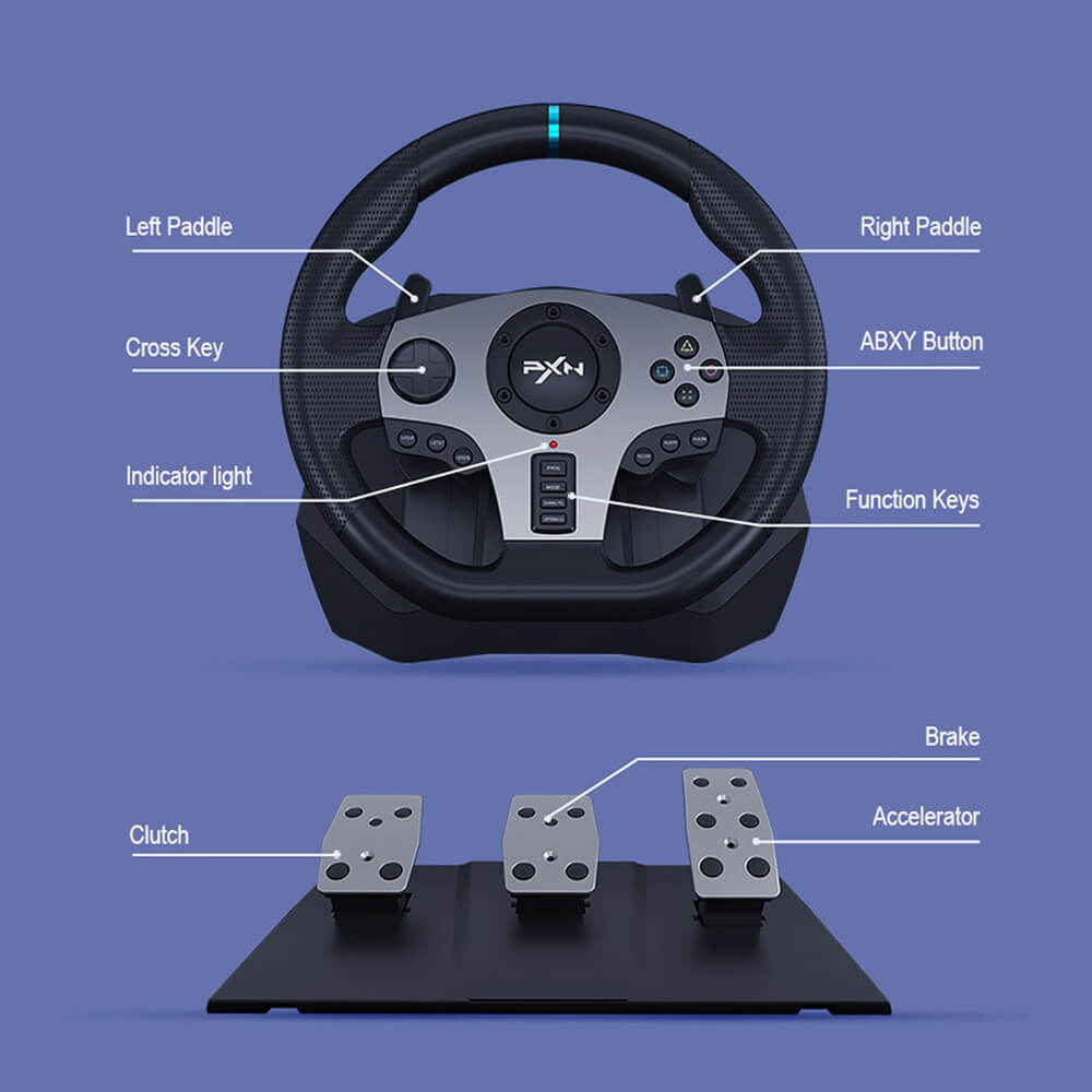 Pxn V9 Gaming Racing Wheel Post2