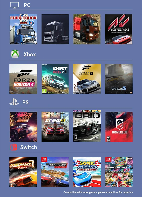 Pxn V9 Gaming Racing Wheel Post5
