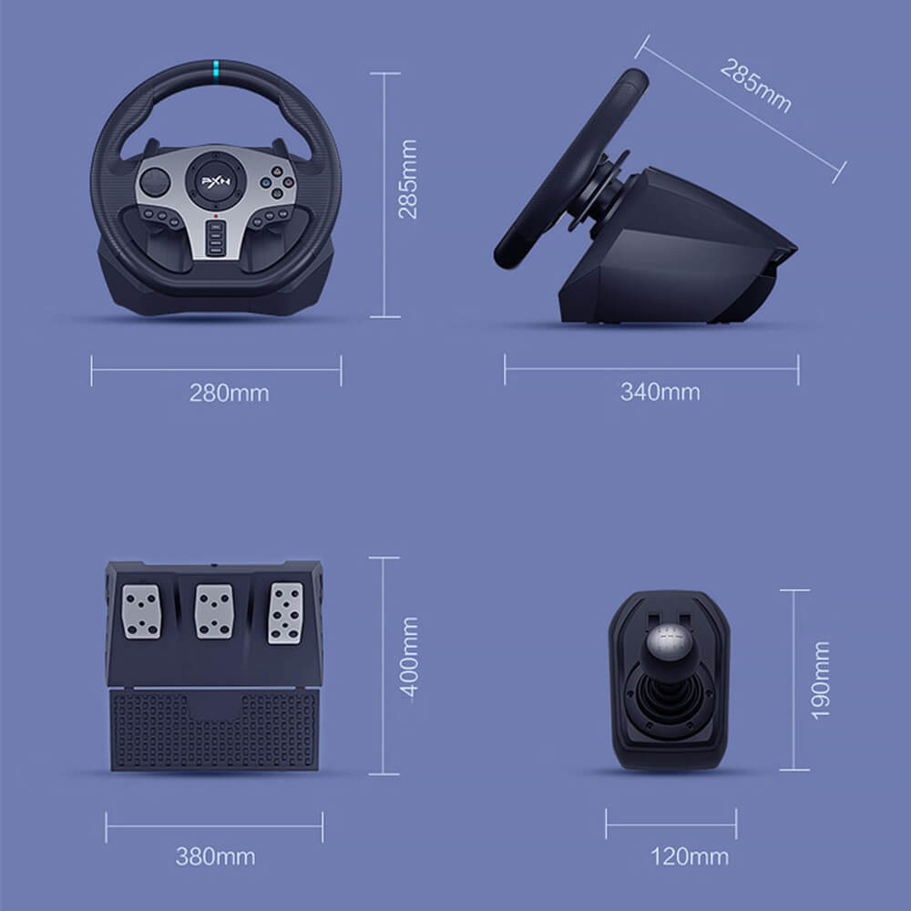 Pxn V9 Gaming Racing Wheel Post8